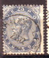 Belgique - Leopold II  - N°40 Oblitéré - 1883 Leopold II
