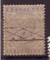 Belgique - Leopold II  - N°41 Oblitéré - 1883 Leopold II