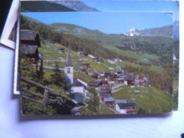 Zwitserland Schweiz Suisse VS Chandolin Anniviers La Bella Tola - VS Valais