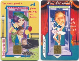 L8) 2 Télécartes (50) France 1999/2000 - 2000
