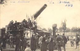 CARTE PHOTO MILITAIRE / CANON LA BERTHA - Equipment