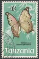 Tanzania. 1973 Definitives. 10/- Used. SG 171 - Tanzania (1964-...)