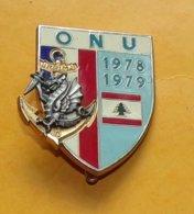 8° Rég. Parachutiste D'Inf. De Marine, ONU 1978 1979, Dos Gren, FABRICANT DELSART SENS,HOMOLOGATION SANS, ETAT VOIR PHOT - Heer