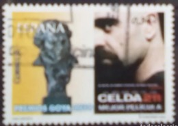 ESPAGNE SPANIEN SPAIN ESPAÑA 2010 CINEMA PREMIOS GOYA CELDA 211 USED ED 4553 YT 4200 MI 4492 SG 4553 SC 3704 - 2001-10 Used