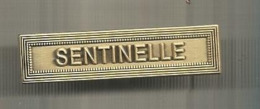 Insigne Agraphe , Opération Sentinelle,2 Scans - Heer