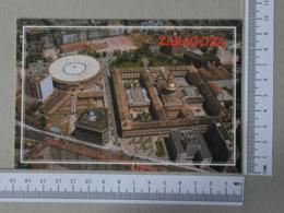 SPAIN - VISTA AEREA -  ZARAGOZA -   2 SCANS    - (Nº31748) - Zaragoza