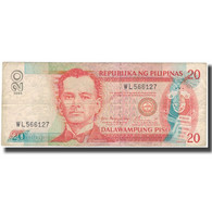 Billet, Philippines, 20 Piso, 1935, KM:182h, TB - Philippines