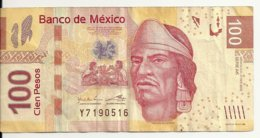MEXIQUE 100 PESOS 2013 VF P 124 I - Mexique