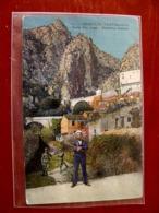 (FP.A03) GRIMALDI VENTIMIGLIA - PONTE SAN LUIGI - FRONTIERA ITALIANA, DOGANIERI (IMPERIA) Animata - Imperia