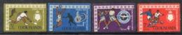 APR2227 - COOK 1967 ,   Yvert Serie N. 116/119 ***  MNH (2380A)  Sport - Cook