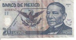 MEXIQUE 20 PESOS 2002 VF P 116 C - Messico