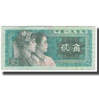 Billet, Chine, 2 Jiao, KM:882a, TB+ - Chine