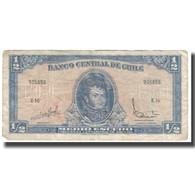 Billet, Chile, 1/2 Escudo, KM:134Aa, TB+ - Chili