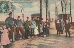 Frontière Franco Allemande - Entre AUBOUE Et Ste MARIE Aux CHENES - Francia
