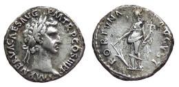 [H] +++ AR Denarius / Denier - NERVA -- RIC 16 -- Fortuna With Rudder And Cornucopiae  +++ - 2. Die Flavische Dynastie (69 / 96)