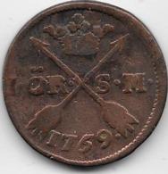 Suède - Ore - 1759 - Suède