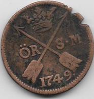 Suède - Ore - 1749 - Suède