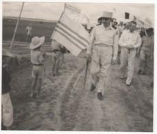 ° VIET NAM ° INDOCHINE ° JEAN DE LATTRE DE TASSIGNY 1889 - 1952  ° PHOTO HAUT COMMISSARIAT DE FRANCE EN INDOCHINE ° - Viêt-Nam
