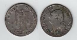 FRANCE  30 Sols 1792 A  LOUIS XVI ROI DES FRANÇOIS - 1789-1795 Monnaies Constitutionnelles