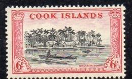 APR2237 - COOK 1949 , Ordinaria Yvert  N. 81  ***  MNH (2380A) - Cook