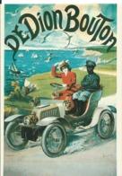 CARTE  PUBLICITAIRE  DE DION BOUTON - Werbepostkarten