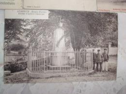 LOT 4 CPA AUBERIVE Village HAUTE MARNE 52 : Cascade Parc, Colonie Pénitentiaire, Lavoir, Statue Theuriet, Animation - Auberive