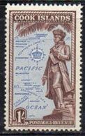 APR2710 - COOK 1949 , Ordinaria Yvert N. 83  ***  MNH (2380A) - Cook
