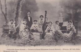 """MUSIQUE . """"Hollandishe Damen Orchester """" Orchestre De Dames Hollandaises (Costume National) Directrice Mlle Nelly HEIDA - Musique Et Musiciens"""