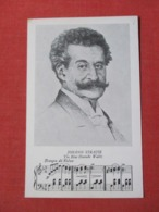 Johann Strauss   The Blue Danube Waltz  >ref 3672 - Musique Et Musiciens