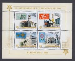 50 ANIVERSARIO DE LOS PRIMEROS SELLOS DE EUROPA. CUBA. EDIFIL 5131. 2005 MNH - Nuevos
