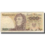 Billet, Pologne, 500 Zlotych, 1982, 1988-12-01, KM:145a, B - Pologne