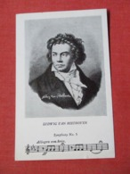 Ludwig Van Beethoven  Symphony No. 5  >ref 3672 - Music And Musicians
