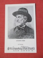Giuseppe Verdi  La Traviata Dolciss >ref 3672 - Musique Et Musiciens