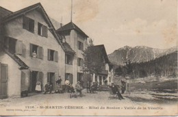 06 St-MARTIN-VESUBIE  Hôtel Du Boréon - Vallée De La Vésubie - Saint-Martin-Vésubie