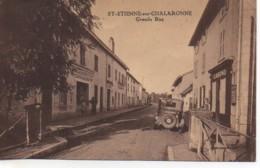 01 St-ETIENNE-SUR-CHALARONNE  Grande Rue - France