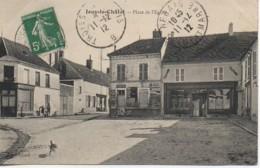 77 JOUY-le-CHATEL  Place De L'Eglise - France