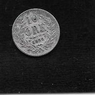 Suède - 10 Ore 1859 - Argent - Sweden