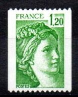 FRANCE - YT N° 2103c - Neuf ** - Cote: 80,00 € - 1977-81 Sabine De Gandon