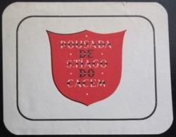 HOTEL PENSAO RESIDENCIAL PENSION POUSADA SANTIAGO CACEM TAG DECAL STICKER LUGGAGE LABEL ETIQUETTE AUFKLEBER PORTUGAL - Hotel Labels