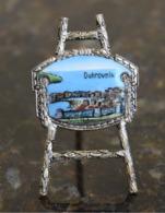 Dubrovnik - Secession, Enamel Thumbnails On Porcelain, Silver Plated - Tourism - Other