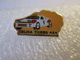 PIN'S    TOYOTA  CELICA  TURBO 4X4  RALLYE - Toyota