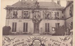 MEUDON : Souvenir De La Victoire - 28 Juin 1919 - Meudon