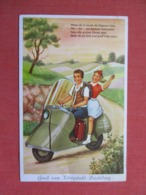 Heidleberg Motor Scooter With Small Pull Out View      >ref 3672 - Allemagne