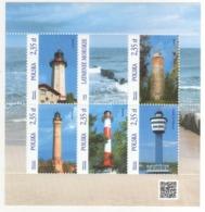 Polonia Poland Polska 2015 Sheet Fari PHARES - LEUCHTURME - LIGHTHOUSES - Headlights MNH - Lighthouses