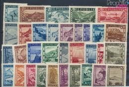 Österreich 738-770 (kompl.Ausg.) Mit Falz 1945 Landschaften (9352094 - Ungebraucht