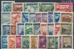 Österreich 738-770 (kompl.Ausg.) Mit Falz 1945 Landschaften (9352095 - Ungebraucht