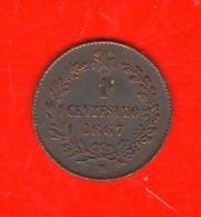 1 Centesimo 1867 M Vittorio Emanuele II° Regno Italia - 1861-1946 : Reino