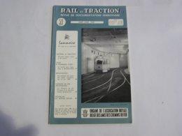 RAIL ET TRACTION N° 53 Revue Chemins De Fer SNCB Tram SNCV Vicinal Bruxelles Midi Vicinaux Betteraves Huy Hesbaye Wavre - Spoorwegen En Trams