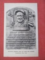 Baseball Vintage Lou Gehrig (Henry Louis Gehrig)  Hall Of Fame Plaque Postcard  >ref 3672 - Baseball