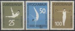 --- 1963 Yougoslavie Y. 946 / 948** M. 1049 / 1051** - 1945-1992 República Federal Socialista De Yugoslavia